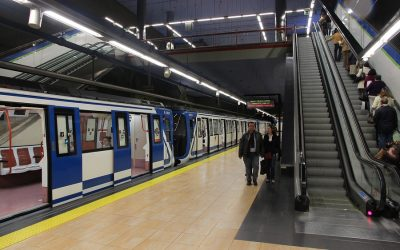 Metrokaart Madrid