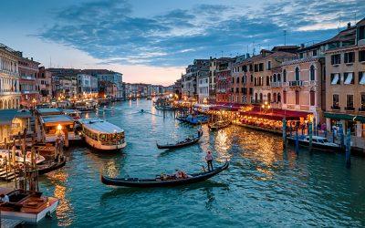 Gondelstad Venetië